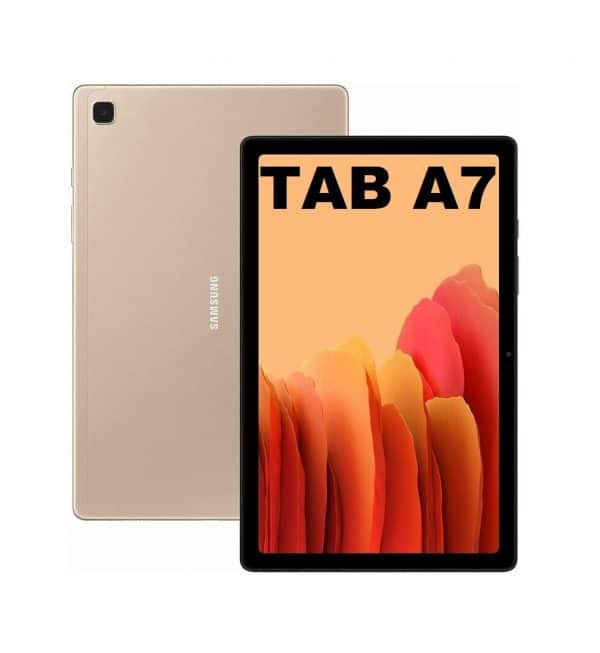 Galaxy Tab A7 Gold 1