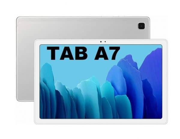 Galaxy Tab A7 Silver 2