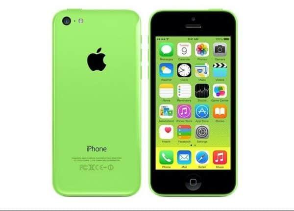 iPhone 5c Green 1
