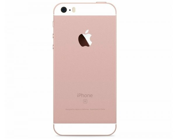 iPhone SE old Rose Gold 2