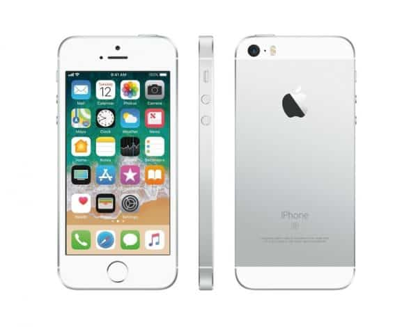 iPhone SE old Silver 1
